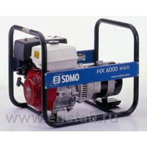 Бензиновый генератор SDMO Intens HX 6000-S