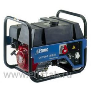 Бензиновый генератор SDMO Technic SH 7500TE-S