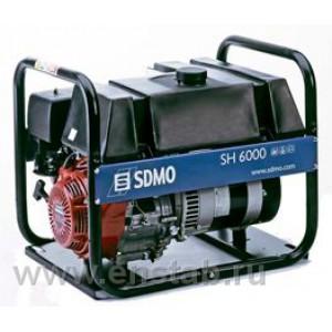 Бензиновый генератор SDMO Technic SH 6000-C