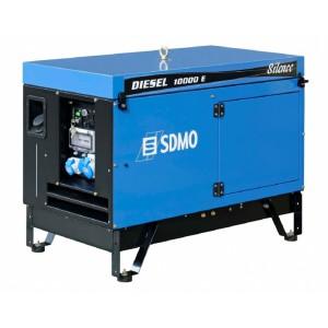 Дизельный генератор SDMO DIESEL 10000 E Silence AVR