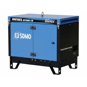 Дизельный генератор SDMO DIESEL 6500 TE Silence