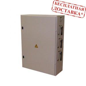 Щит коммутации с ручным байпасом по каждой фазе без контроля трехфазного выхода ЩК 150-РБ